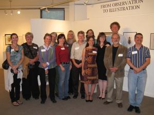 GNSI-NE Members at Annual Exhibit