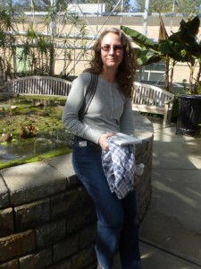 Wendy Chadbourne at Roger Williams Park sketching event