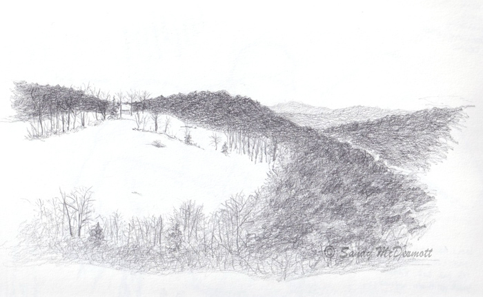 Vermont Sketch from December 9