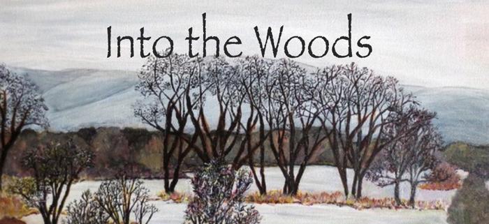 Into the Woods Exhibit Logo
