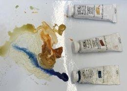 Carol Schwartz gouache limited palette